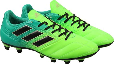 shopping for football shoes adidas ace 17 4 fxg football shoes buy sgreen cblack