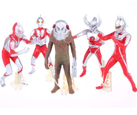 Figure Ultraman Isi 5 Seri 6 buy grosir ultraman seri tv from china ultraman seri tv penjual aliexpress