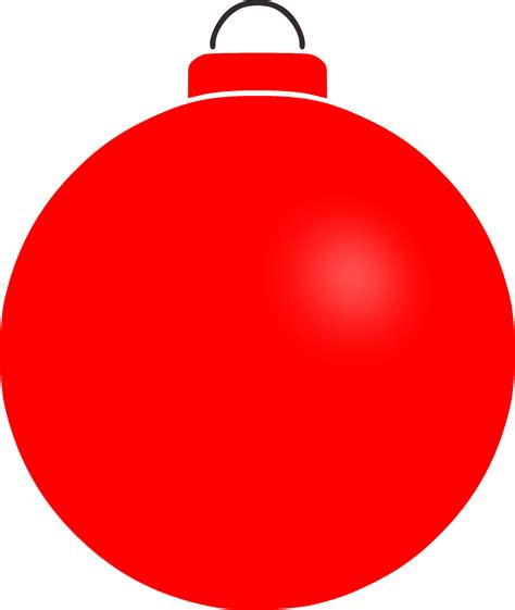 christmas ornaments clipart plain pencil and in color