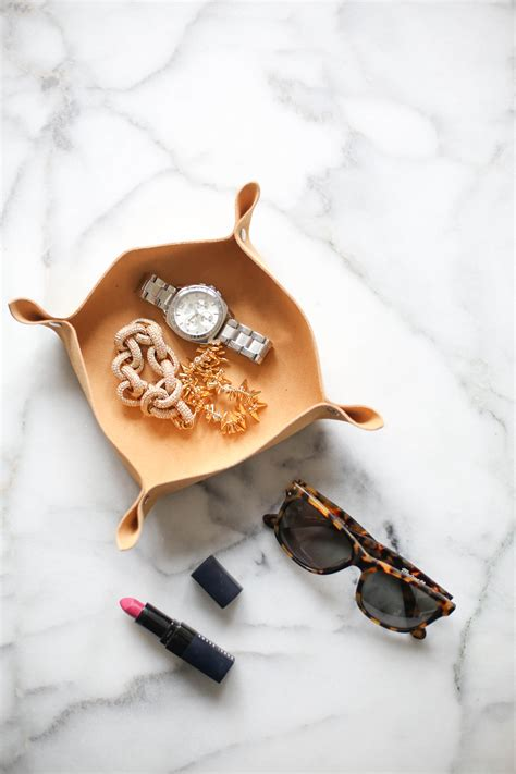 Diy Leather by Diy Leather Catchall The Everygirl