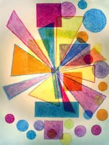 color composition layered shape color composition photodork