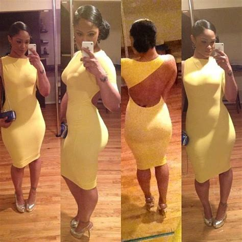 imagenes de maliah michel maliah michel in a sexy yellow dress dress party