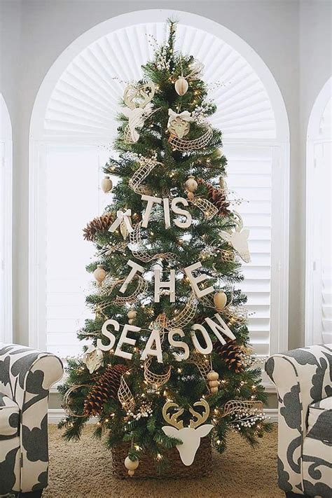 tree themes simple and tree decorating ideas for 2015