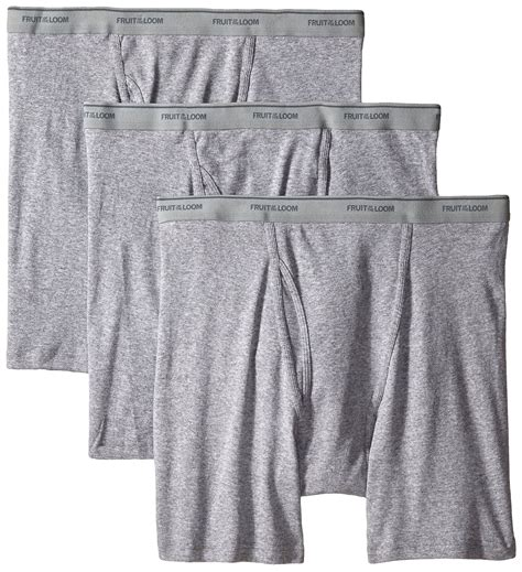 fruit of the loom knit boxers fruit of the loom s 3pk big solid knit boxers