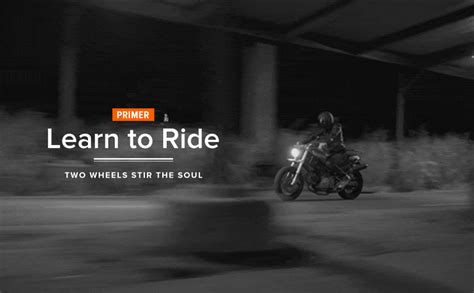 how to ride a the how to ride a motorcycle gear patrol