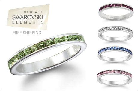 Eversave Sweepstakes - eversave deal swarovski crystal elements eternity band 10