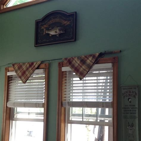 fish curtain rod fishing rods fishing poles and curtain rods on pinterest