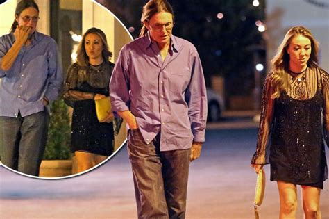 bruce jenner spruced up to take mystery brunette to elton bruce jenner spotted with mystery woman on night out in