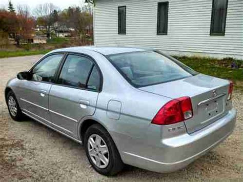 2003 honda civic lx 4 door sell used 2003 honda civic lx sedan 4 door 1 7 liter 4