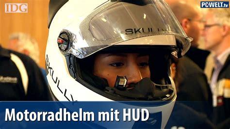 Motorradhelm Mit Head Up Display by Motorradhelm Mit Head Up Display Skully Ar 1 Vorgestellt