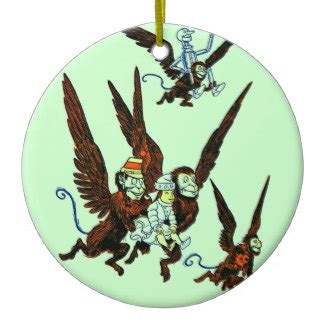 wizard of oz christmas ornaments