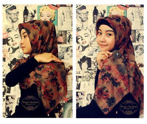 tutorial hijab pesta dewi neelam طريقة لف الطرحه لبنات 16 سنه مدعم بالصور