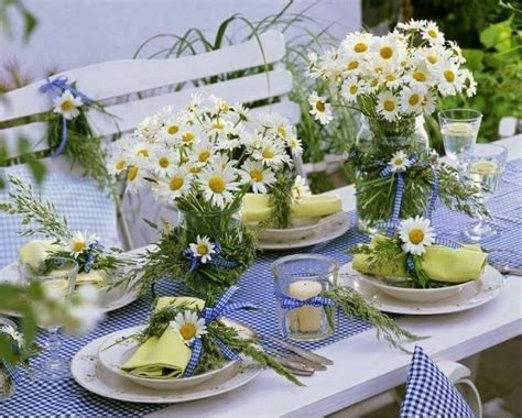 summer decoration 21 table decoration ideas for a summer garden party