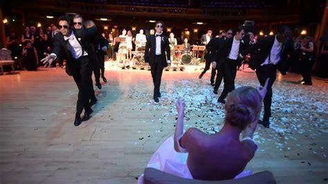Ballerina Wedding: Surprise Groomsmen Dance   YouTube