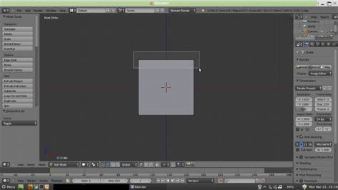 tutorial blender membuat meja tutorial blender meja belajar part 1 teknonesia