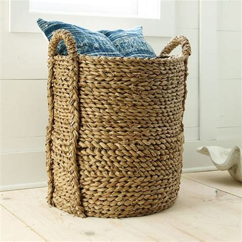 large basket for storing throw pillows the world s catalog of ideas