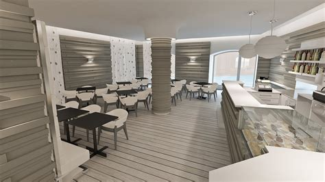 divanetti bar dwg studio sagitair architettura interior design render