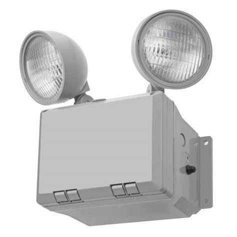 Lithonia Emergency Lighting by Acuity Lithonia Wltu Emergency Light Loc Incdst Gray