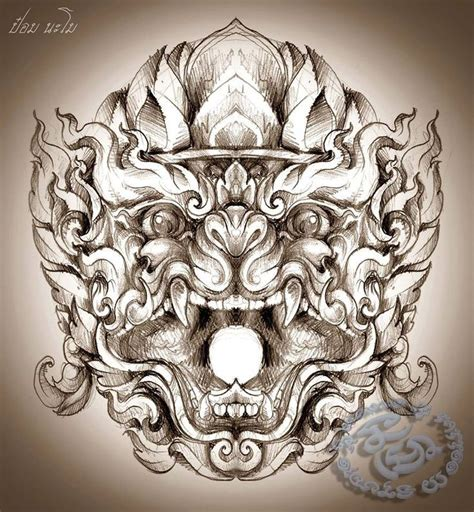 thai dragon tattoo designs 2cc8b0a5b0ffd0bc0c42dfceeea187d9 jpg 736 215 796 หน มาน