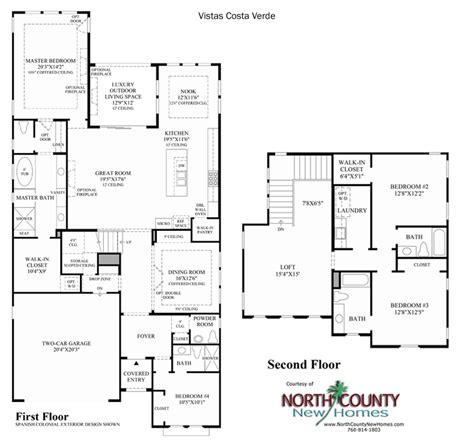 costa verde floor plan vistas at robertson ranch county new homes