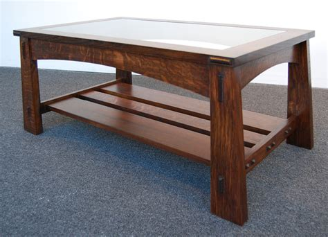 coffee table styles arts and crafts style coffee table www pixshark com