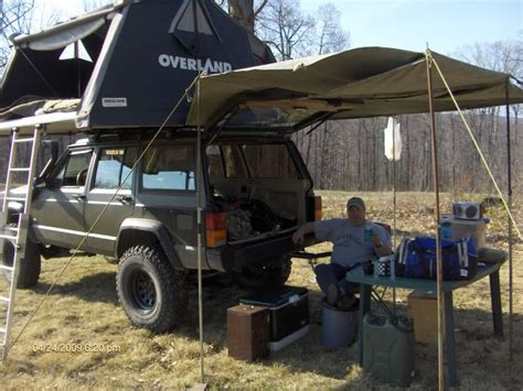 overland jeep tent overland 1 8 roof top tent naxja forums north