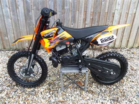 Mini Ktm Dirt Bikes Mini Mx 50r 50cc Childs Moto Cross 2 Stroke Automatic 9hp