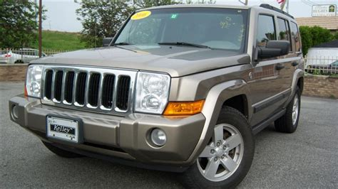 2006 Jeep Commander For Sale Used 2006 Jeep Commander 4x4 Sport Utility 9 390 00