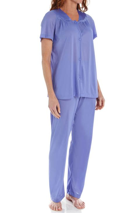 Vanity Fair Pajamas by Vanity Fair Coloratura Vintage Pajama Set 90107 Vanity Fair Sleepwear