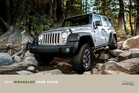 jeep wrangler manual leaked 2018 jeep jl wrangler owner s manual user guide