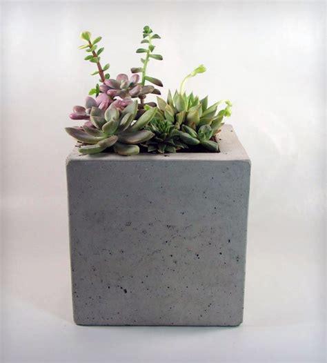 square concrete planter square concrete planter home decor lighting