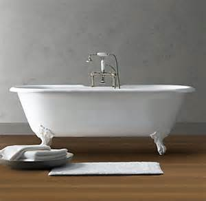 restoration hardware bathtubs vintage imperial clawfoot soaking tub with white