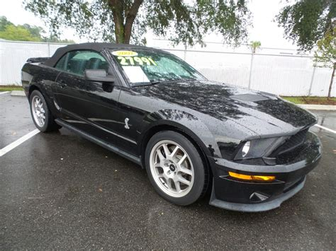 mustang pre owned pre owned 2007 ford mustang shelby gt500 convertible in