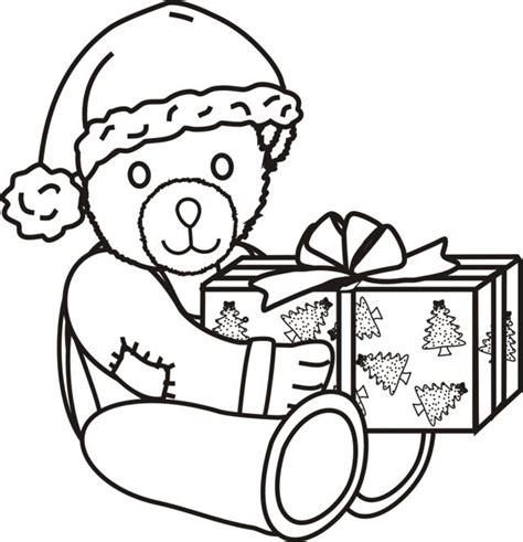 santa bear coloring page 95 santa bear coloring page click to see printable