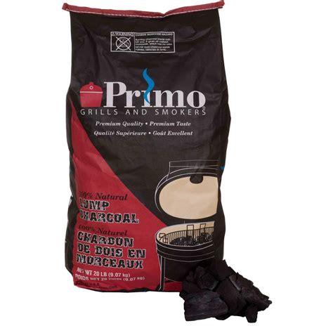 primo lump charcoal 20 lb bag bbq guys