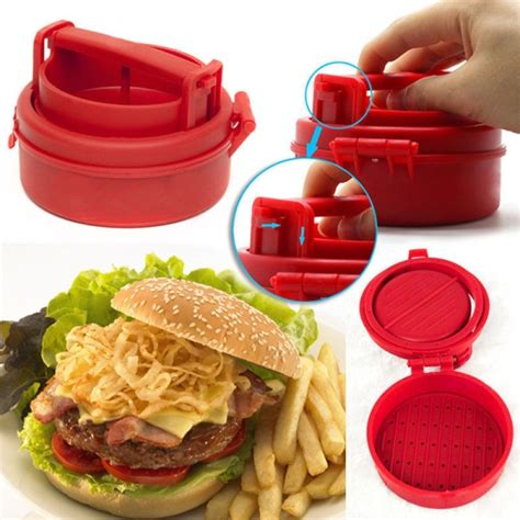 Backyard Grill Stuffed Burger Press Stuffed Burger Press Hamburger Beef Grill Bbq Maker Kitchen Mold Alex Nld