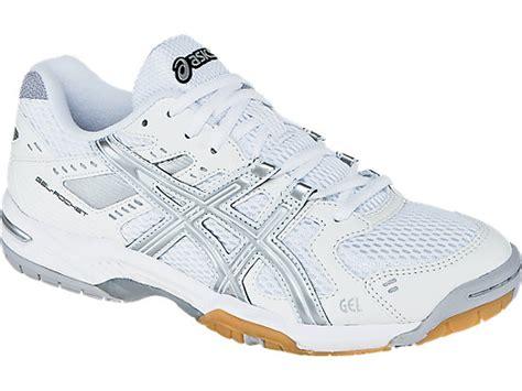 Sepatu Asics Gel Rocket 6 gel rocket 6 white silver asics us
