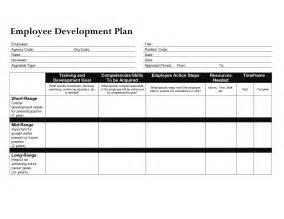 employee professional development plan template best photos of employee work plan template word sle