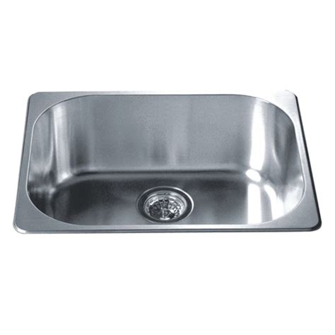 stainless steel kitchen sinks top mount kitchen sinks single drop in series stainless steel top