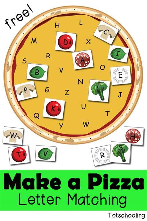 Letter Pizza Free Letter Pizza Printable Free Homeschool Deals