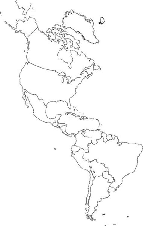 South And America Map Outline by Best Photos Of Black And White Map Of And South America And South America Map