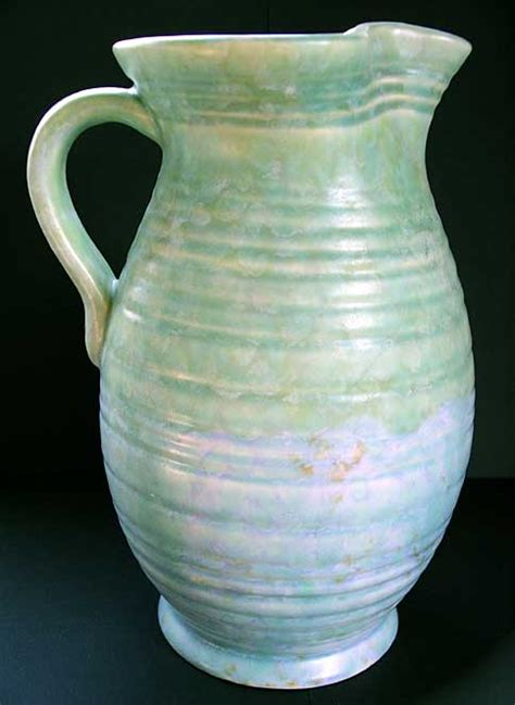 Beswick Vases by Best Beswick Deco Pottery Lg Jug Vase Des Symcox