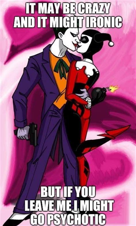 Harley Quinn Memes - 11 lovey dovey memes that make joker harley quinn a perfect pair