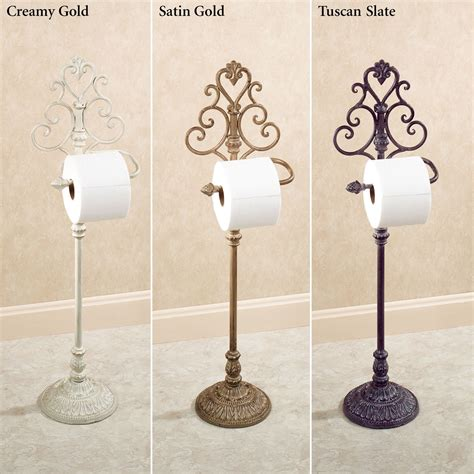 toilet paper stand aldabella wrought iron toilet paper stand