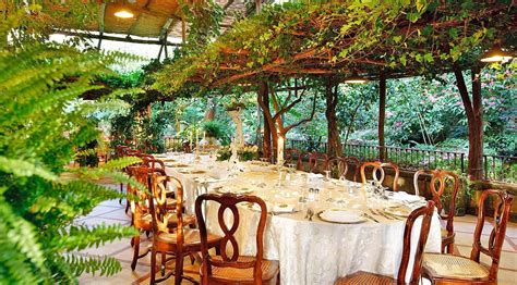 Garden Of Restaurant by Garden Restaurant In Sorrento Sorrento Amalfi Coast