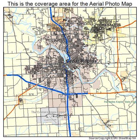 map of cedar rapids iowa aerial photography map of cedar rapids ia iowa