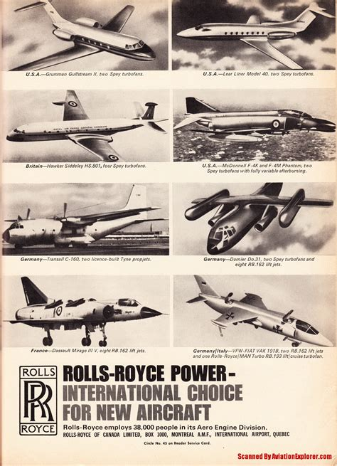 rolls royce aircraft engines vintage airline aviation and aerospace ads rolls royce