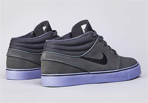 Nike Stefan Janoski 01 nike sb stefan janoski mid base grey black purple sneakernews