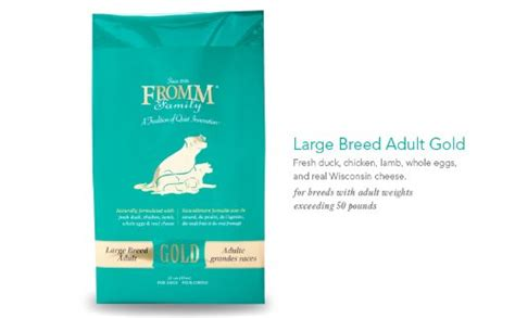 fromm large breed puppy food best food for american bulldog guide in 2018 us bones
