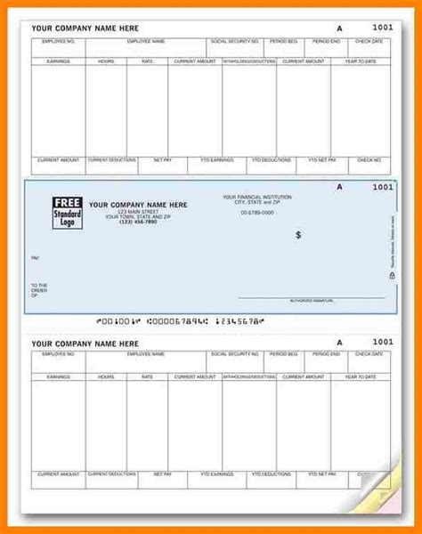 8 free printable paycheck stubs cio resumed